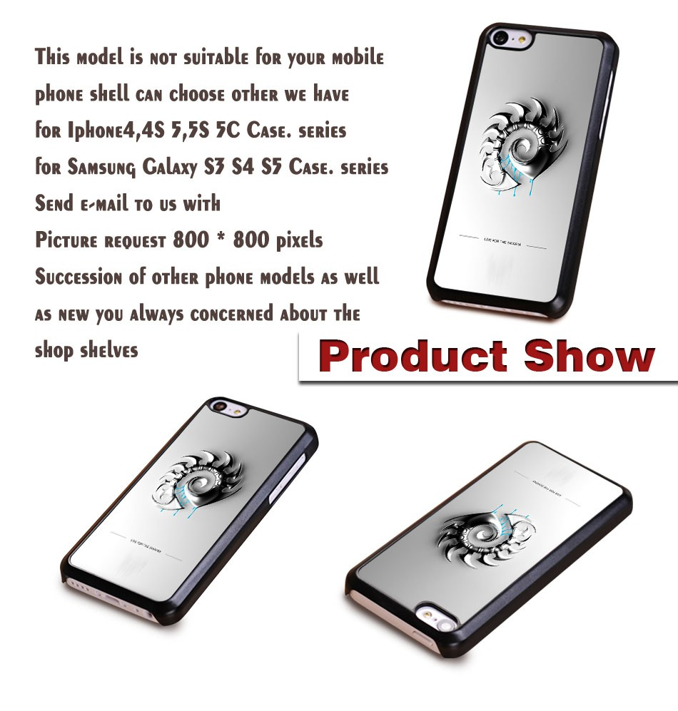 Hot models zerg Background Printing Pattern plastic Mobile Parts Protection Cover For iPhone 5C And 4S 5S 6 6 Plus Cases
