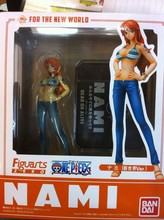 Japanese Anime Cartoon Two Years Later One Piece Nami Action Figures PVC Tos Doll Model Collection