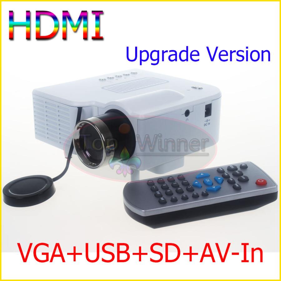 High quality mini av led digital video game projectors for High resolution pocket projector