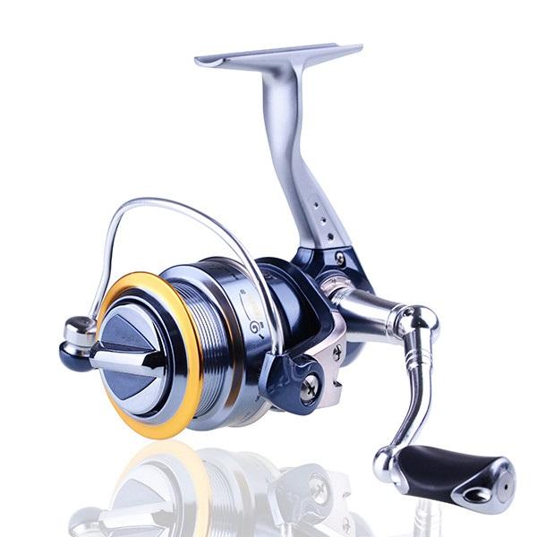 Fake Bait pre-Loading Spinning Wheel Spinning Fishing Reel for Carp Fishing Metal Spool CNC Drag(China (Mainland))