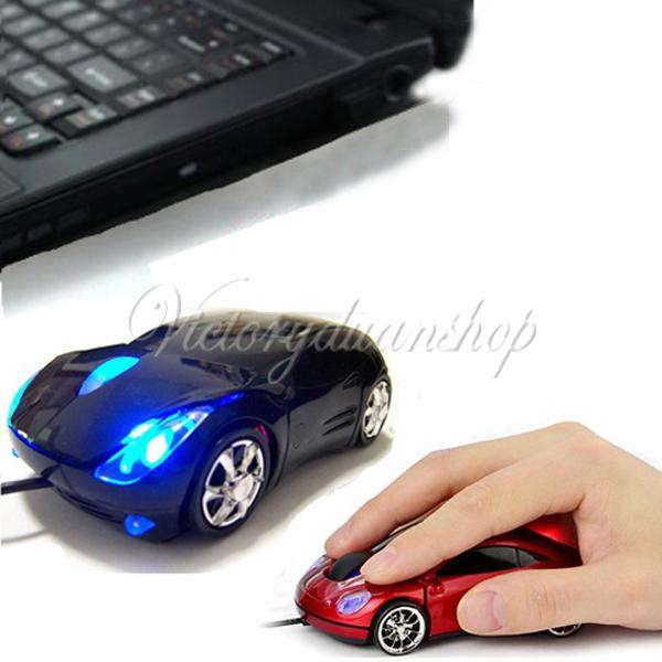 Brand New 3D Optical USB Wired Mouse Mice 1600DPI Car Shape for PC Laptop Notebook Computer(China (Mainland))