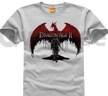 Dragon age 3 inquisition Dragon age Pure cotton Round collar Men's short sleeve T-shirt 003