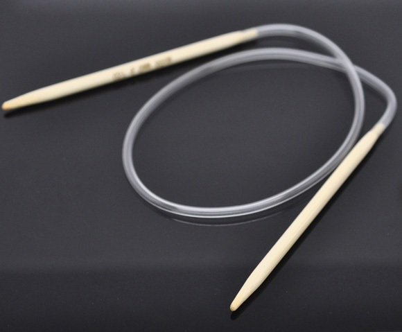 Knitting Needle Size Us To Mm : Aliexpress buy pair bamboo cm circular knitting