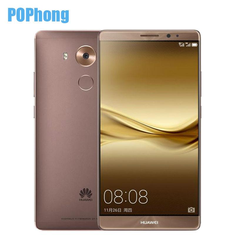 HUAWEI MATE 8 NFC Fingerprint 6 inch Mobile Phone 3/4GB RAM 32/64/128GB ROM Octa Core Kirin 950 LTE Dual SIM(China (Mainland))
