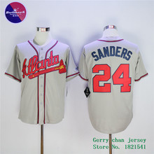 Deion Sanders Jersey,White Blue Red Cream Stitched(China (Mainland))