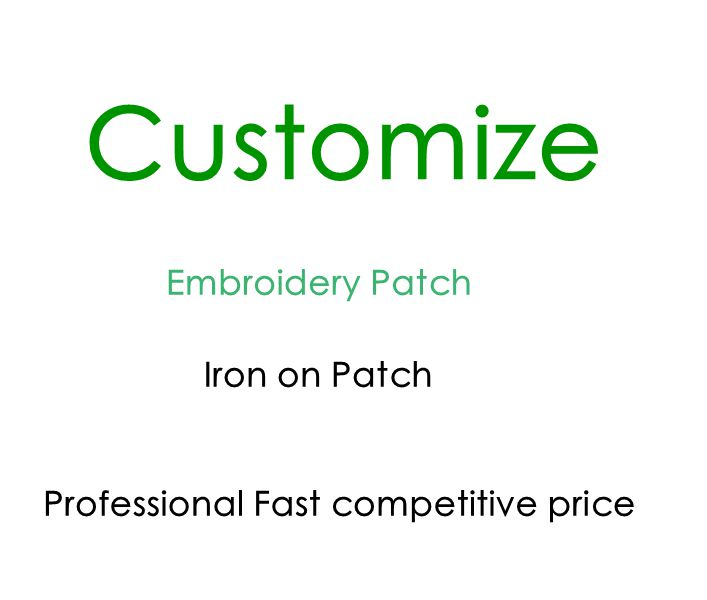 P0 Customize Iron or Sewing on Patches for clothing applique embroidery Accessory Suppliers(China (Mainland))