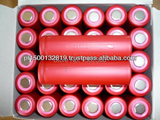 (50pcs/lot free shippping) SANYO UR18650W2 high rate 18650 1500mah 15A<br>