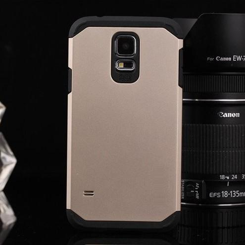 Anti-knock Tough Armor Armour cover For samsung galaxy s5 V i9600 G900 Super Protect Shield cell phone bags Cases + 1pcs film(China (Mainland))