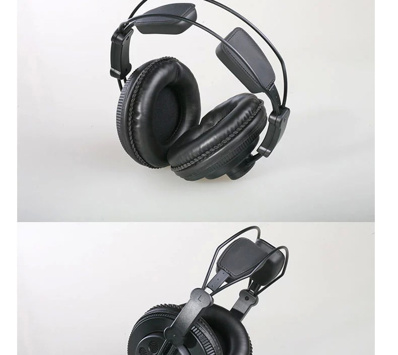 Superlux HD668B Semi-open Dynamic Professional Studio Standard Monitoring Headphones HIFI For DJ Music Detachable Audio Cable
