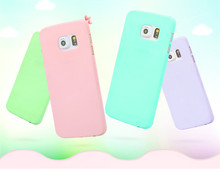 Buy Candy colors Soft TPU Silicon phone cases Samsung Galaxy S4 S5 S6 A3 A5 2016 J5 Grand Prime phone shell Coque Cover for $1.09 in AliExpress store