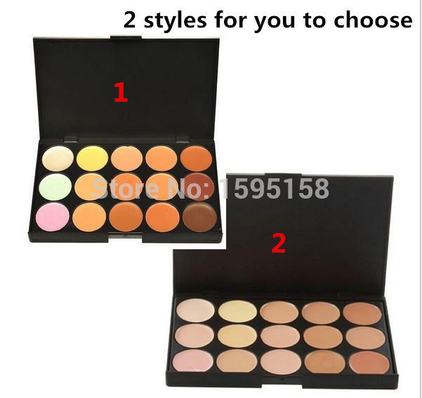 2 style 15 colors Blusher Concealer MC Blush Special Blush Facial Face Cream Care Camouflage Makeup base Blusher Palette Blush(China (Mainland))
