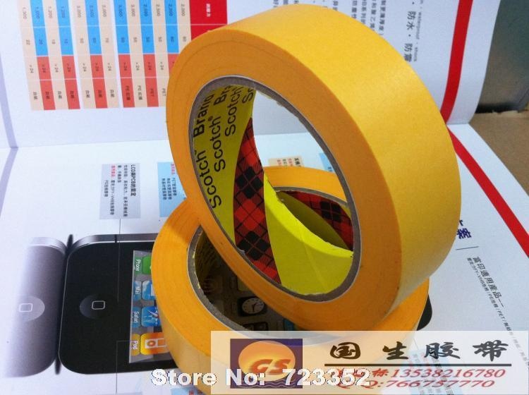3M 244 not degum high temperature 10 mmx50m import U.S. profile of paper tape(China (Mainland))