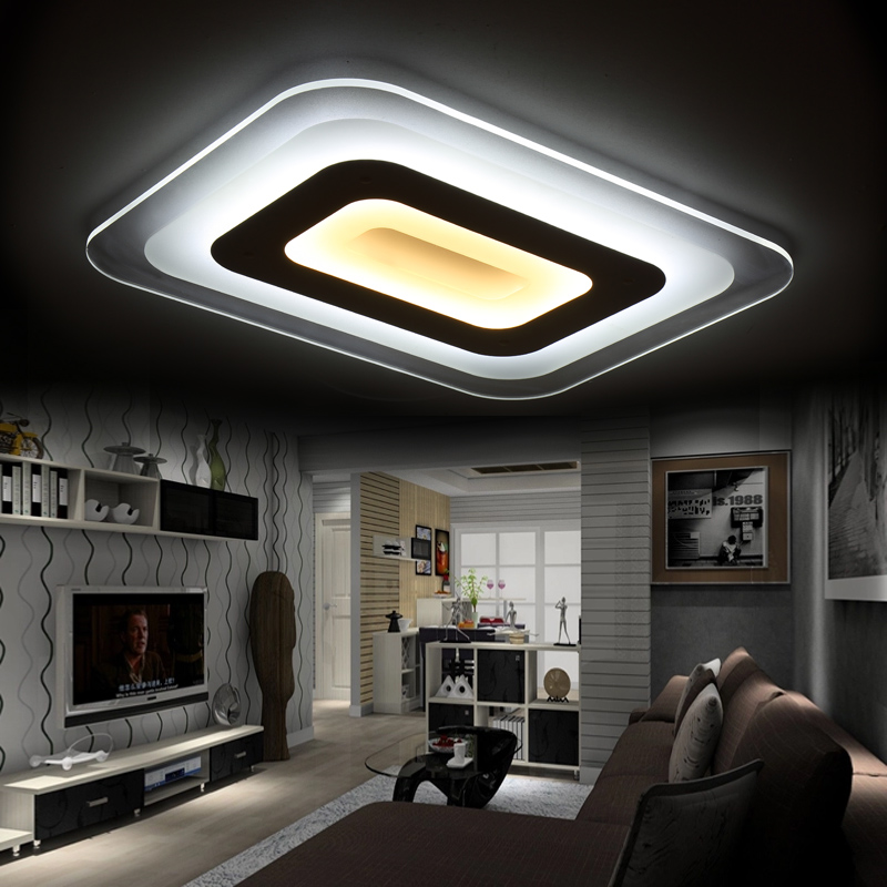 Surface Mounted Modern led ceiling lights for living room bedroom Hallway Dining room lamp led ceiling lamp for home luminaire(China (Mainland))