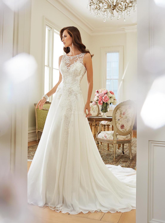 Фото свадебные платья из шифона