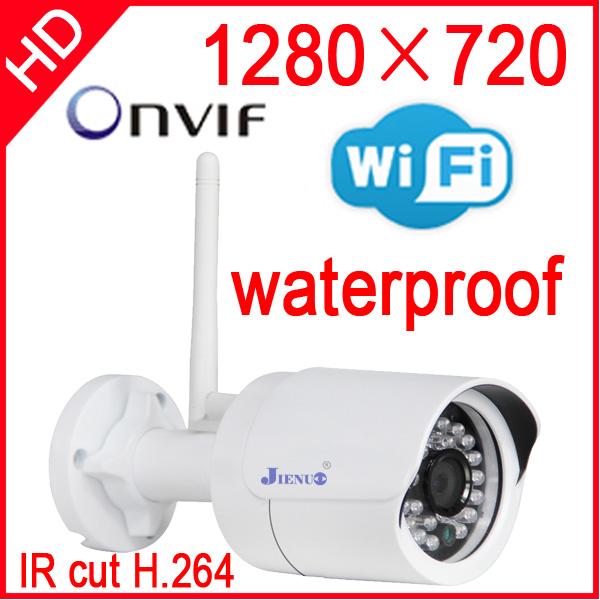 ip camera wireless 720p wifi security system outdoor waterproof weatherproof video capture surveillance hd onvif cctv Infrared(China (Mainland))