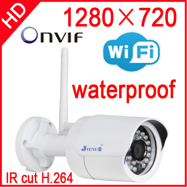 ip camera wireless 720p wifi security system outdoor waterproof weatherproof video capture surveillance hd onvif cctv Infrared(China (Mainland))
