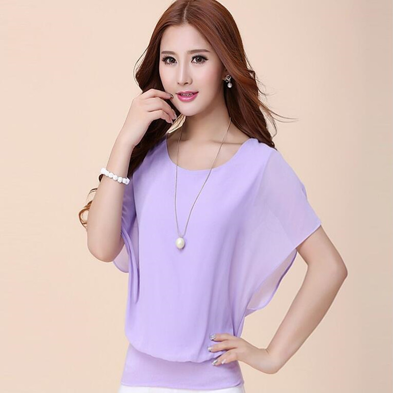 Camisetas Real Solid In The Summer Of 2017 New Fashion Women's Sleeve T-shirt Wholesale Clothing Show Thin Bat Tumblr Unicorn