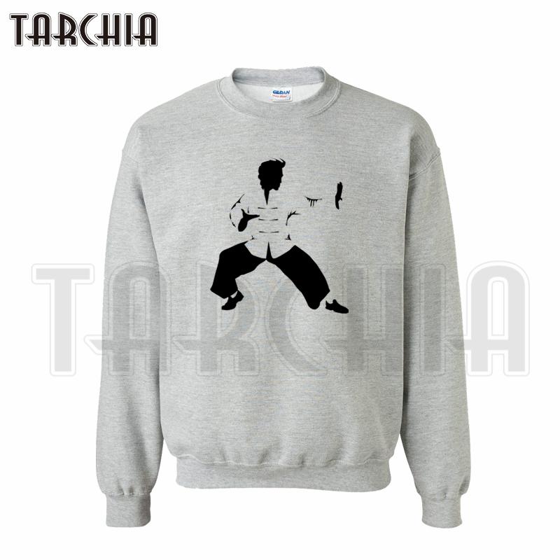 TARCHIA 2016 free shipping limited font b hoodies b font kung fu man font b sweatshirt