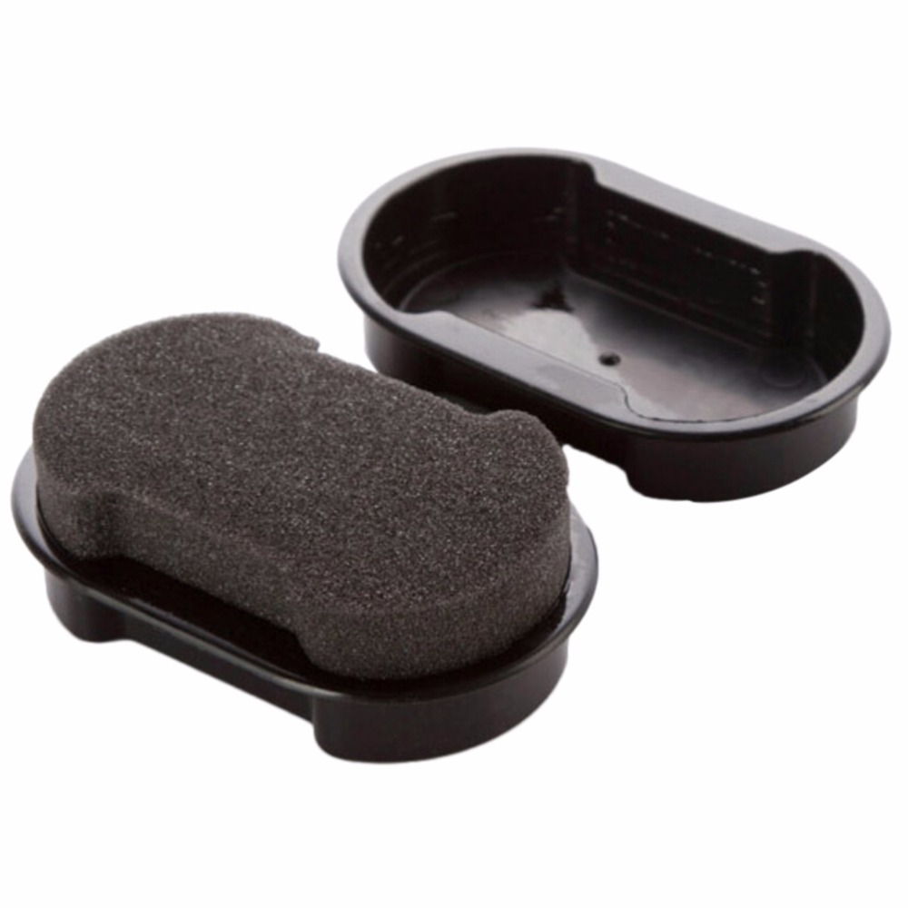 Black Shine Shoes Brush Cleaner Leather Polishing Cleaning liquid wax shining Sponge polisher For Shoe Boot bag sofa(China (Mainland))