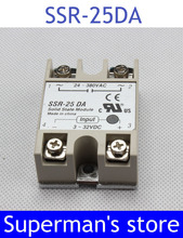 Buy SSR-25DA relay solid state 25A actually Manufacturer 25A solid state relay 25A 3-32V DC TO AC 24-380V SSR 25DA for $2.10 in AliExpress store
