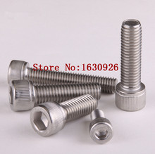 Buy Free 100pcs/Lot Metric Thread DIN912 M3x16 mm M3*16 mm 304 Stainless Steel Hex Socket Head Cap Screw Bolts for $5.71 in AliExpress store