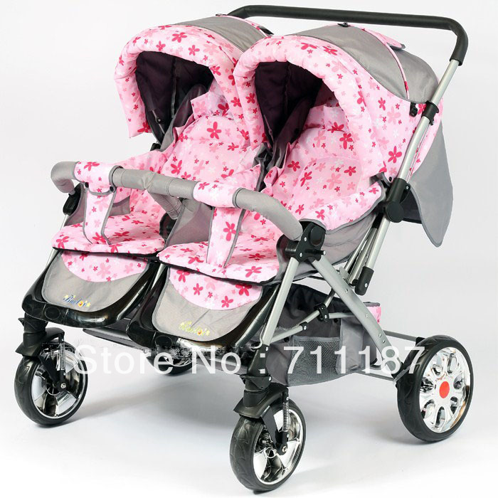 2013 cheap twins pram double stroller side double seat car beautiful comfortable twins infant. Black Bedroom Furniture Sets. Home Design Ideas
