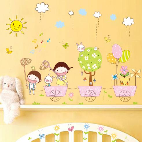 Children 39 S Room Wall Decoration Living Room Bedroom Cute Cartoon