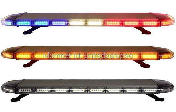 Free Shipping high bright Generation III 1Watt LED lightbar led light bar led warning lightbar amber led lightbar LAL-102(China (Mainland))
