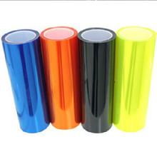 13 All Colors 30cm x100cm Auto Car Light Headlight Taillight Tint Vinyl Film Sticker  Hot Sales Free for Shipping