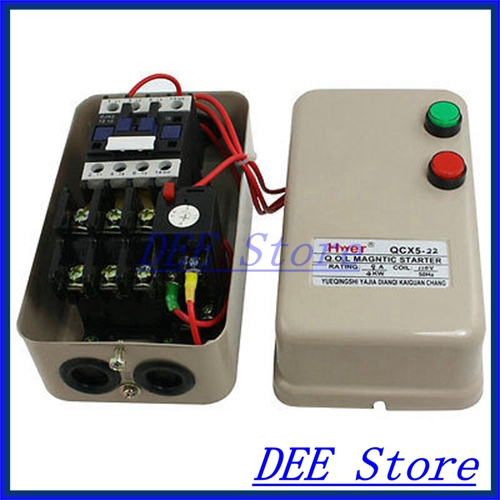 6.8-11A 110V Coil 5.5 HP 3 Phase AC Contactor Motor Magnetic Starter 3Poles<br><br>Aliexpress