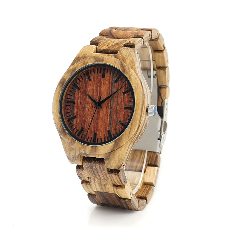 Watches Luxury Wooden Band Casual Wristwatches relogio masculino C-K27