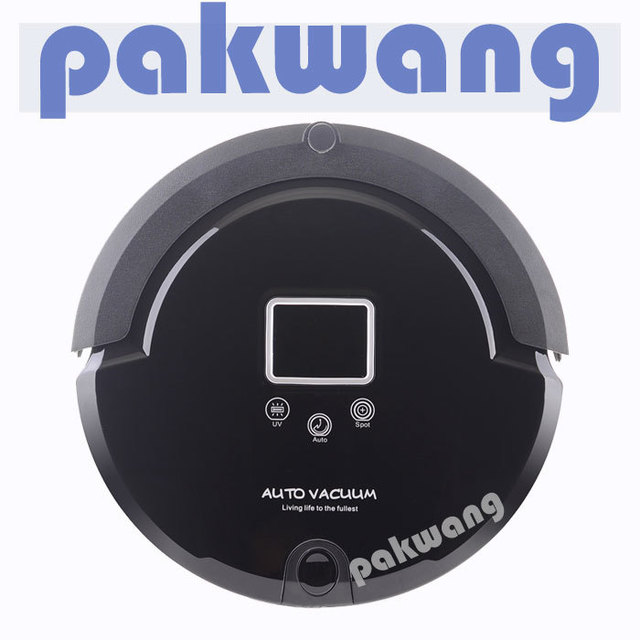 Multifunction Intelligent Robot Vacuum Cleaner A320 with Sweep Vacuum Mop Sterilize LCD Touch Screen Schedule Self-charge