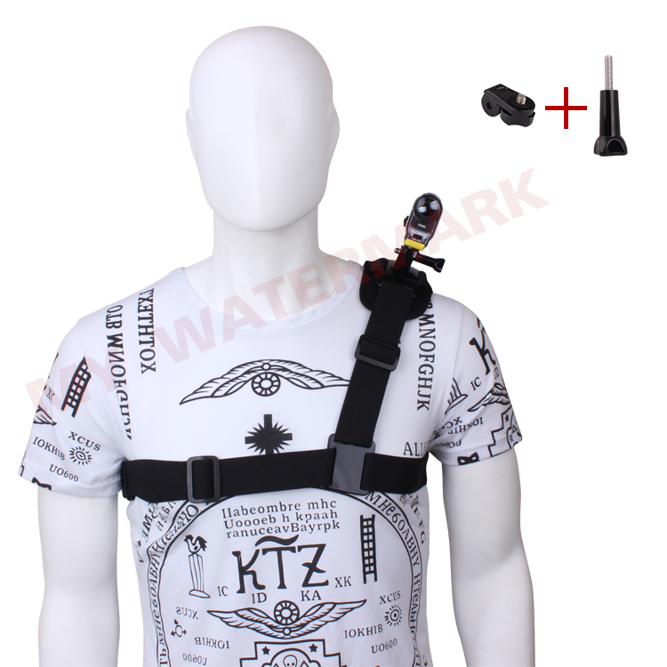 Adjustable Harness Chest Belt Single Shoulder Strap Mount +Tripod Adapter Connector for Sony Action Cam HDR-AS15/AS20/AS30V/100V<br><br>Aliexpress