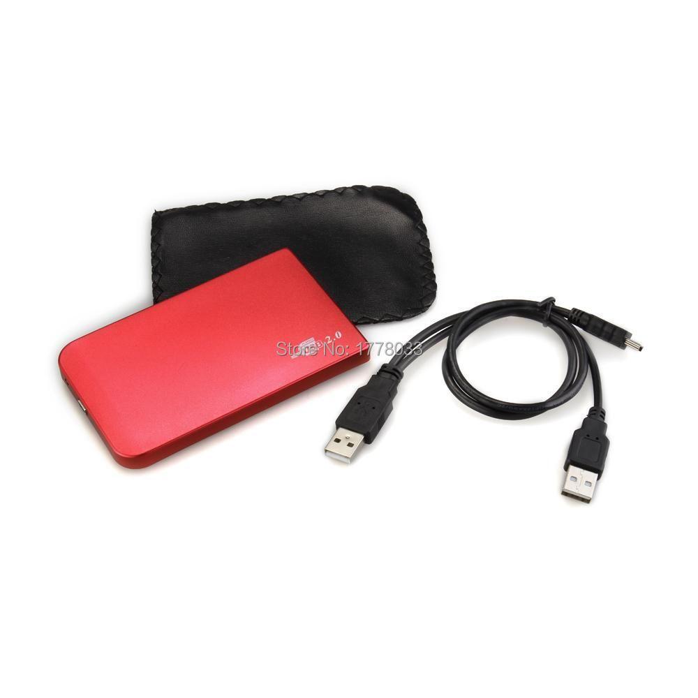"""USB 2.5"""" Hard Drive IDE HDD HD External Enclosure Case(China (Mainland))"""