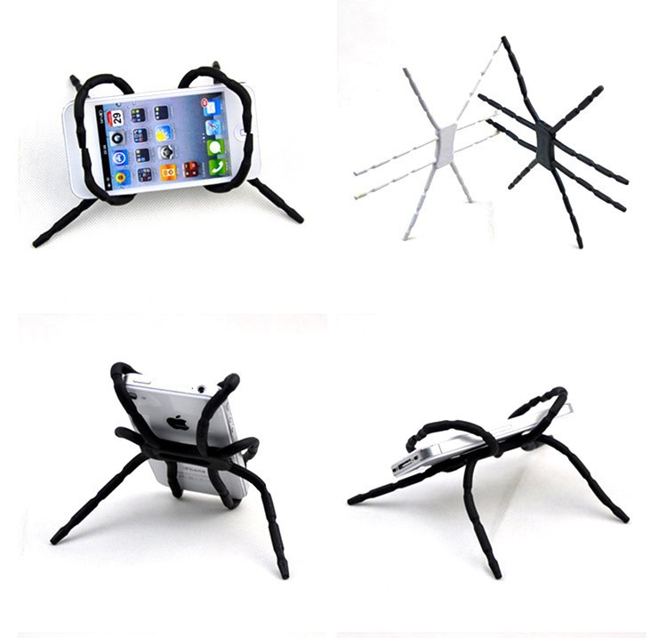 New Spider Mobile Phone Holder For Iphone 6 Plus 5 5s 4S For Samsung Note 4 S5 Car Holder Kit Stand Support Cell Phone Holder(China (Mainland))