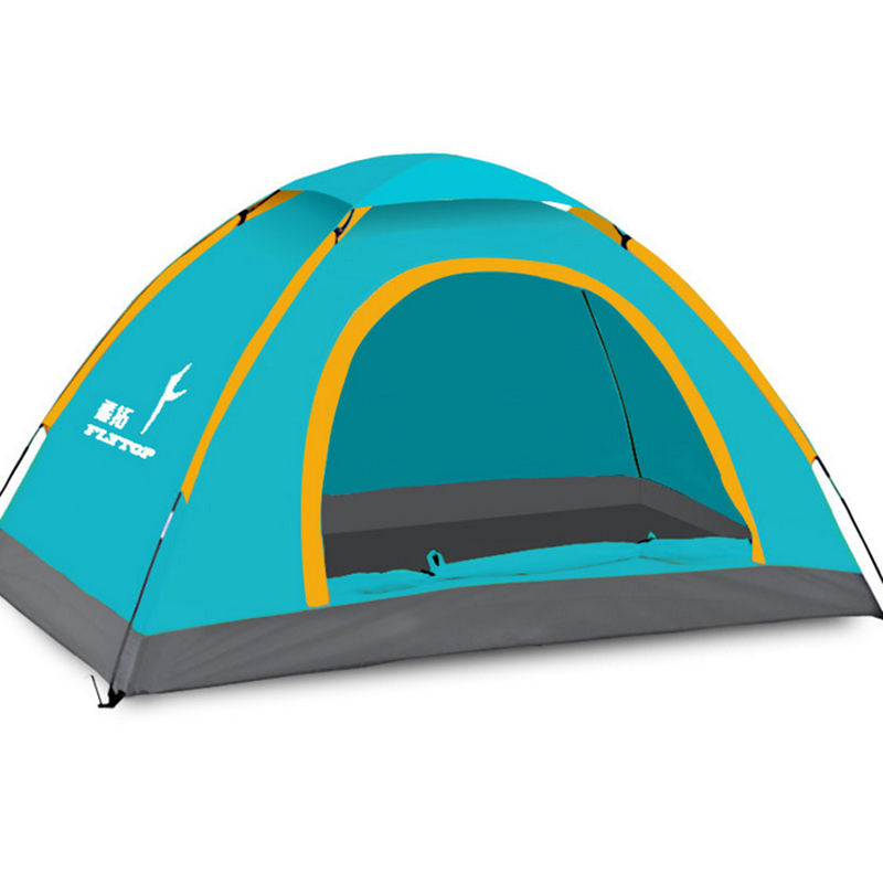 FlyTop 3-4 Person Rain-Proof Fold Tent for Beach Camping LZ01(China (Mainland))