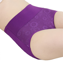 Women's Sexy Panty High Waist Breathable Panties Plus Size Female Underwear Body Shaping Briefs(China (Mainland))
