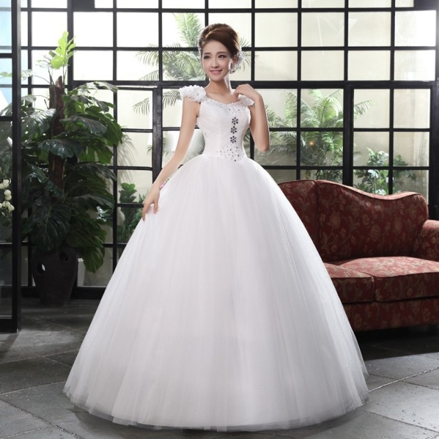 Wedding Dresses  Made In : Princess wedding dress lace cheap dresses made