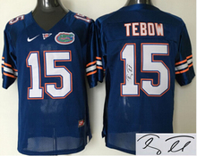 Signature ! Florida Gators 15 Tim Tebow 22 Emmitt Smith free shipping Jeff Driskel 6(China (Mainland))