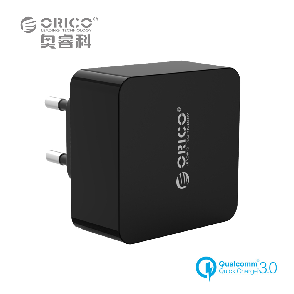 ORICO QTW-1U 1 Port QC3.0 USB Quick Charger Wall Charger with 1m Free Micro USB Cable(China (Mainland))