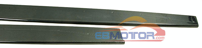 MP style Real carbon fiber side skirts body kits apron 1pair for BMW F80 M3 4-door F82 M4 2-door 2014UP  B363