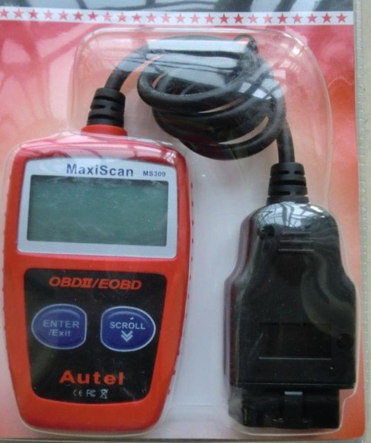 5 pcs/lot Autel MaxiScan MS309 CAN OBDII Code Reader