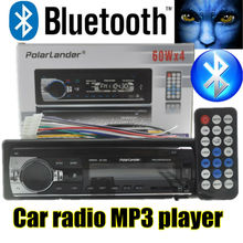 2015 new 12V Car Radio bluetooth MP3 car Audio Player Support Bluetooth radios USB/SD MMC Port Car In-Dash w/remote control(China (Mainland))