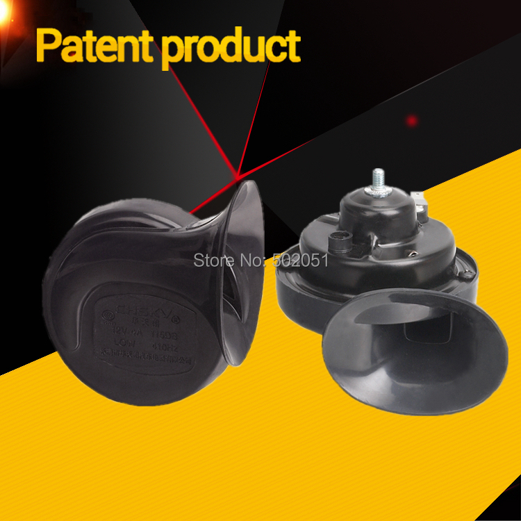Hot sale long life time car horn loud sound snail horn 12V car styling parts tungsten point manganese steel(China (Mainland))