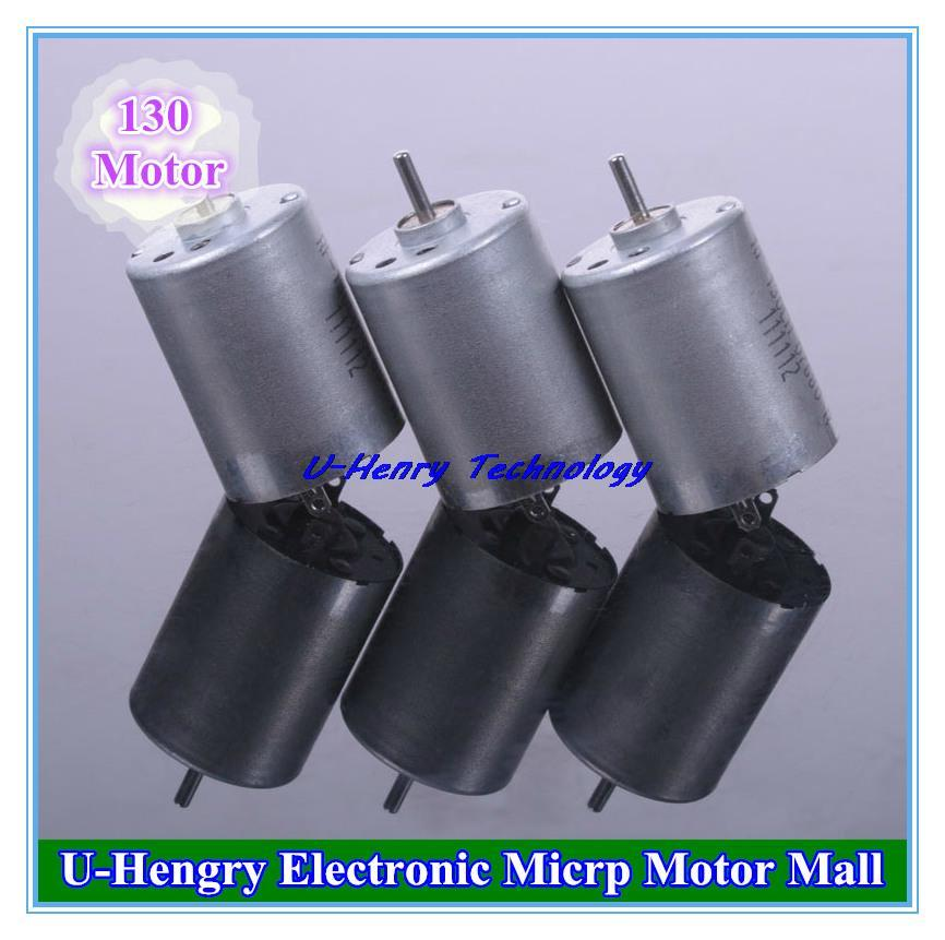 Electronic Motor Mall 130 Round Micro Motors Strong