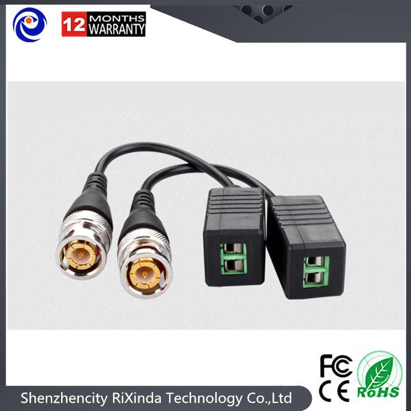 50pairs HD CCTV Via Twisted Pairs Transmitter HD CVI/TVI/AHD Passive Video Balun Male BNC To UTP Cat5/5e/6 Network Camera(China (Mainland))