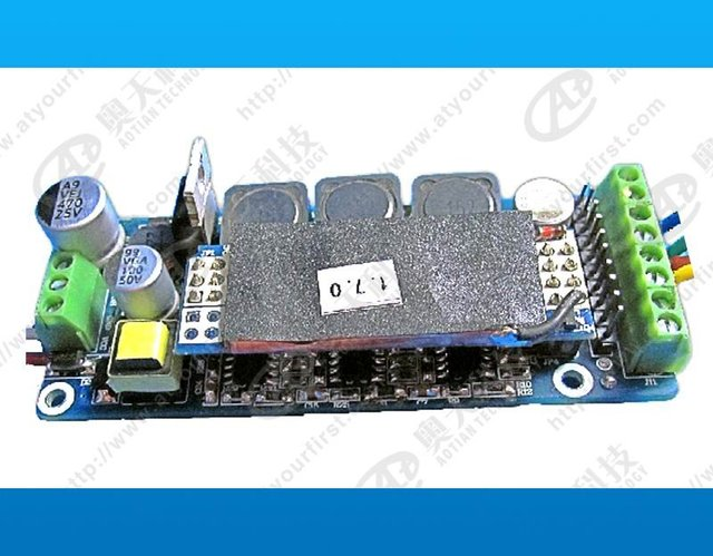 DMX constant current decoder & driver;DC24V input;RGB*6*1W/320ma output;can driver 6pcs 3W RGB LED