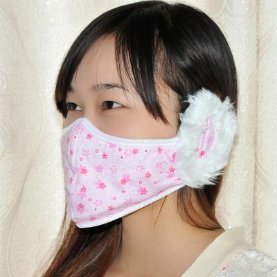 Spring- utility patent thick hair mask Outdoor / ear / anti-fog and haze cold winter heating supplies(China (Mainland))