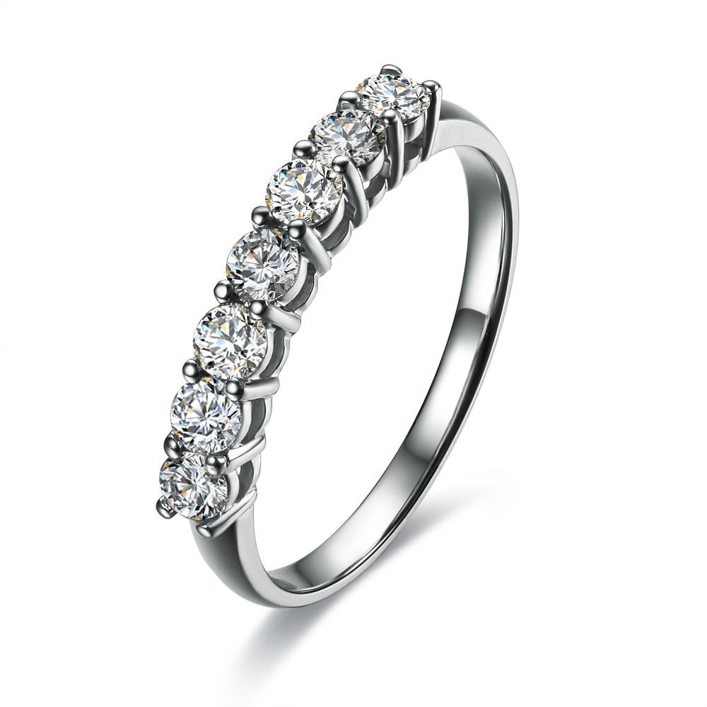 certificate 0 7 ct moissanite engagement rings for