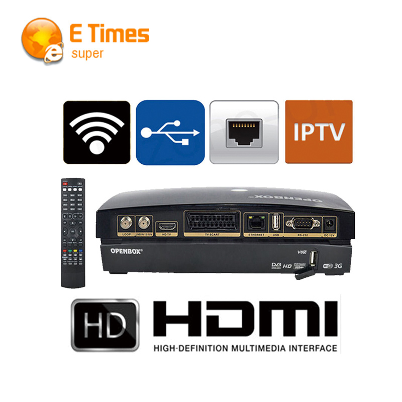 hot Openbox V8S Digital font b Satellite b font Receiver S V8 S V8 Support WEBTV